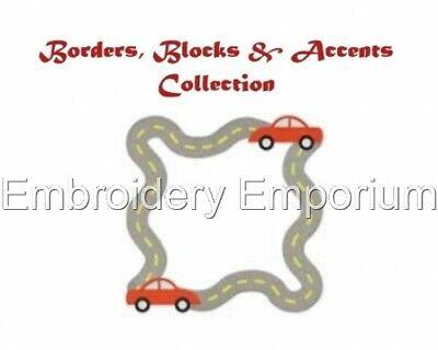 MACHINE EMBROIDERY DESIGNS USB ANITA GOODESIGN CHRISTMAS BLOCKS /& BORDERS