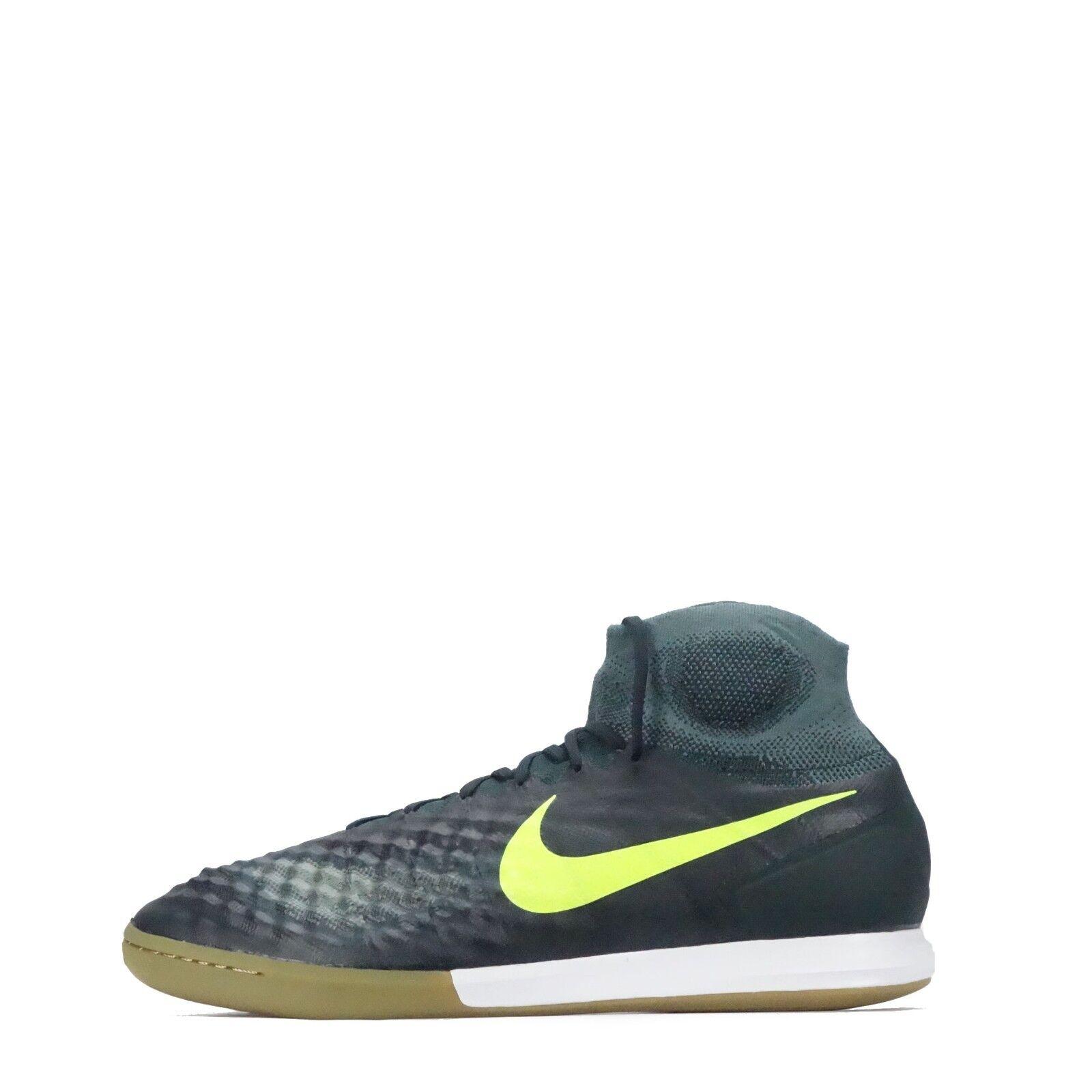 Nike magistax Mauricio Augusto  II 2 Interior Tribunal Zapatillas para hombre de fútbol, algas Volt