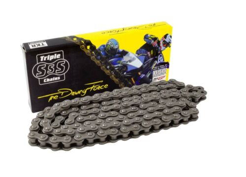YAMAHA YBR 125 2012 428-118 LINK HEAVY DUTY BLACK TRIPLE S CHAIN