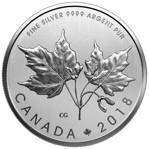 The-Maple-Leaves-2018-Canada-10-Fine-Silver-Coin
