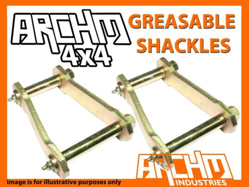 MAZDA BT-50 4WD 11//11-ON ARCHM4X4 REAR GREASABLE SHACKLES