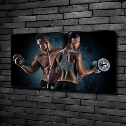 Leinwandbild Kunst-Druck 100x50 Bilder Sport Bodybuilding