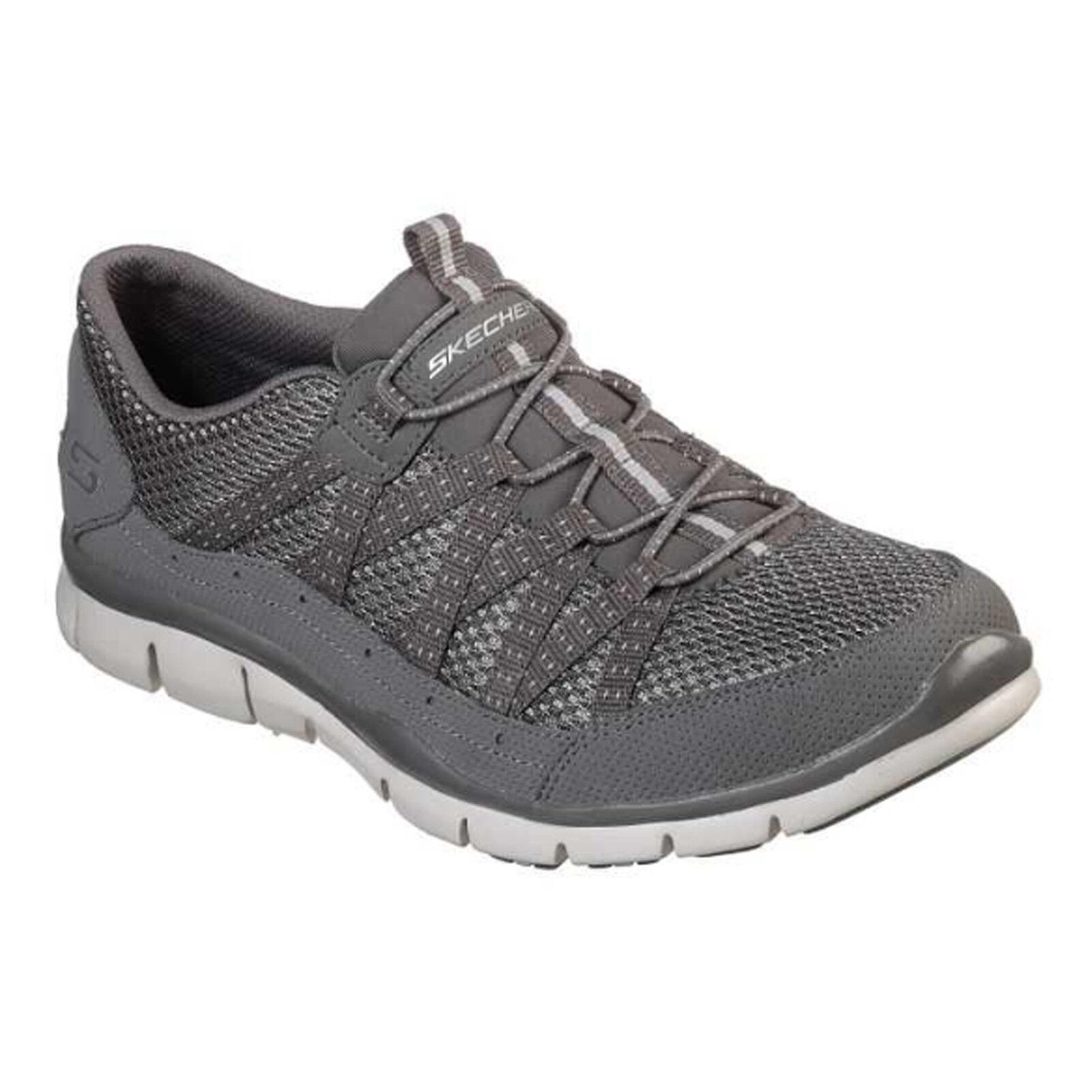 Skechers Gratis-paseando Entrenadores  Zapatos Imitación Cuero Elástico para Mujer 22823  Descuento del 70% barato