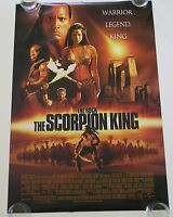 The Scorpion King Ds Movie Poster One Sheet Authentic
