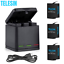 thumbnail 1 - TELESIN Battery Charger Case For GoPro Hero 8 7 6 5 Black Charging& Storage Box