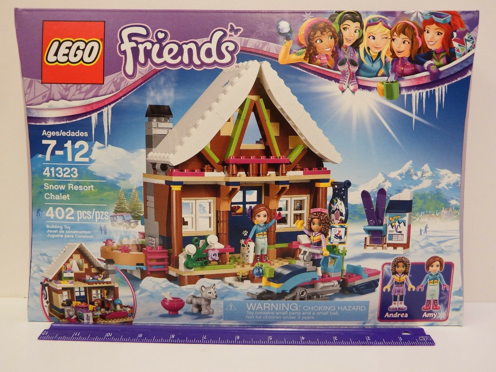 LEGO FRIENDS - Snow Resort Chalet - Model pc set - Ages 7 - 12