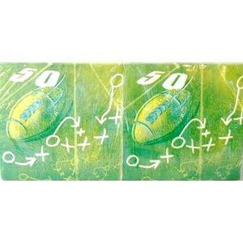 Lot of 750 Dixie Football Dinner Napkin 50 Yard Line Design Five 150CT Packs