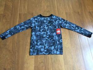 4d851efc58f9 NEW Nike Tech Fleece Camo Crew Sweatshirt Jumper Youth Size L 828722 ...