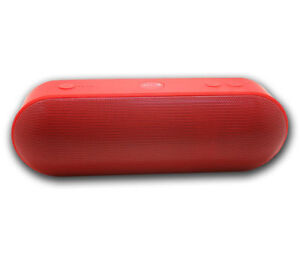 Speaker Bluetooth 3 1 Colour Red With Radio Speakers And Bars Sound 8436046486829 Ebay