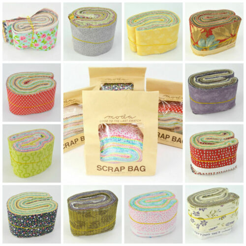 MODA Lucky dip SCRAP BAGS 100/% Premium Cotton Fabric for Patchwork /& Sewing