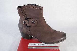 LAMICA bottes chaussures pour femmes bottines cuir véritable neuf 2914 marron