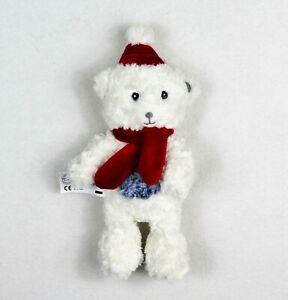 Teddy Weihnachten.Details Zu Tcm Tchibo Bär Eisbär Teddy Mit Sound 26 Cm Kuscheltier Stofftier Weihnachten
