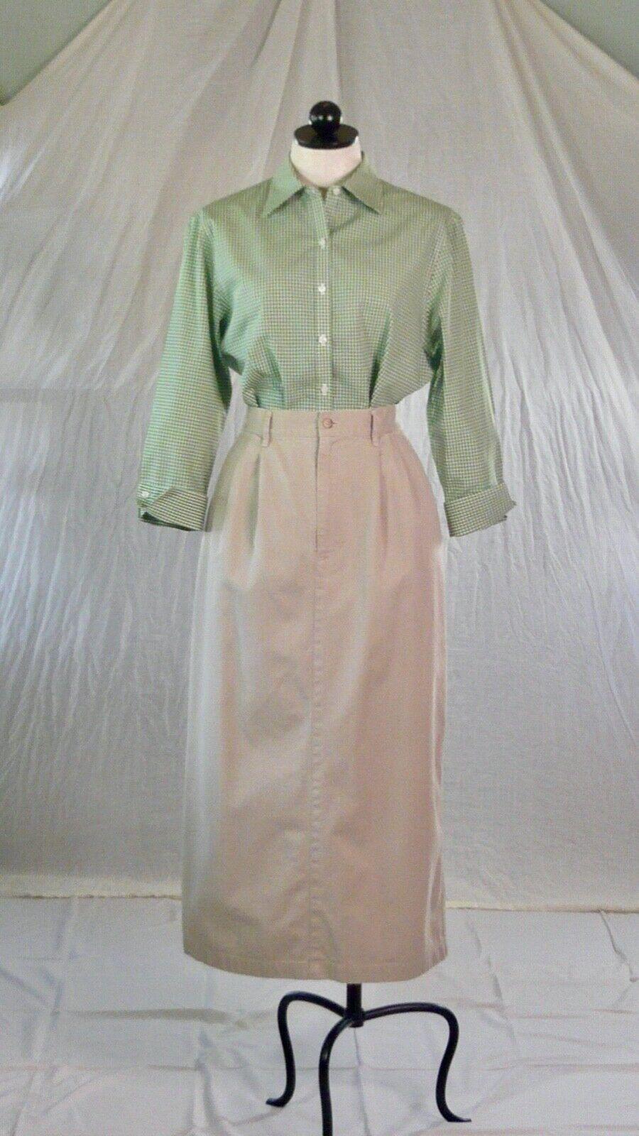 RALPH LAUREN vintage 70s 80s cotton khaki TROUSER… - image 8