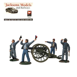 Britains 31264 We Hit em Boys  Confederate Parredt Gun Set LE of 400
