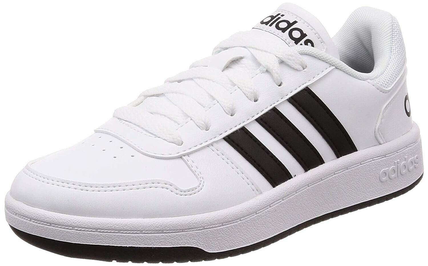 Adidas Hoops 2.0 Men's Walking shoes Sneakers White NEW F34841