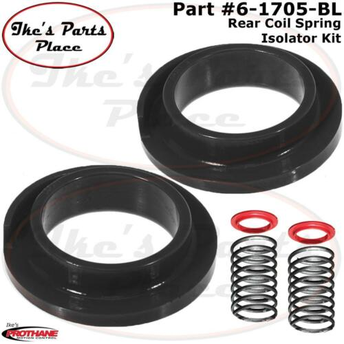 Prothane 6-1705-BL Rear Coil Spring Isolators//Pads-Pair-Ford Focus 00-06 Poly