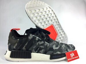 f50ee7e182b Details about NEW adidas Originals NMD R1 BOOST G27913 Grey/Solar Red |  Camo Pack / Printed c1