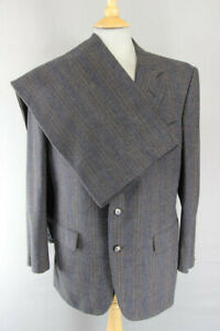Hand Tailored Chester Barrie Austin Reed Pure Wool Suit Chest 40 In Waist 35 In Ebay