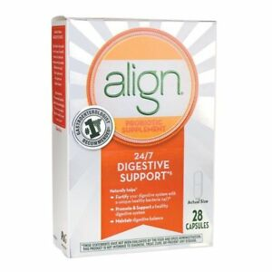 Align Daily Probiotic Supplement, 24/7 Digestive Support ...