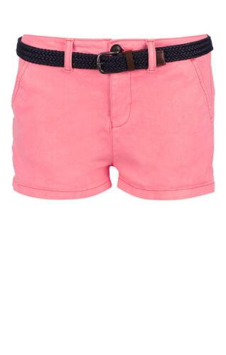 Superdry Shorts mit Gürtel NEU!!! pink hell G71001TQF2