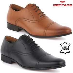 Mens Red Tape Leather Shoes Smart