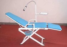 Portable Dental Chair Cold Light Dentistry Mobile Unit Equipment With Waste Tray