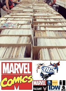 50 Comic Book HUGE lot - Marvel, DC, & Independent Comics! MINIMUM $200 VALUE!!!