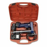 Cordless Rechargeable Grease Gun | 2 X 12v Battery Automotive Mechanics Tool on sale