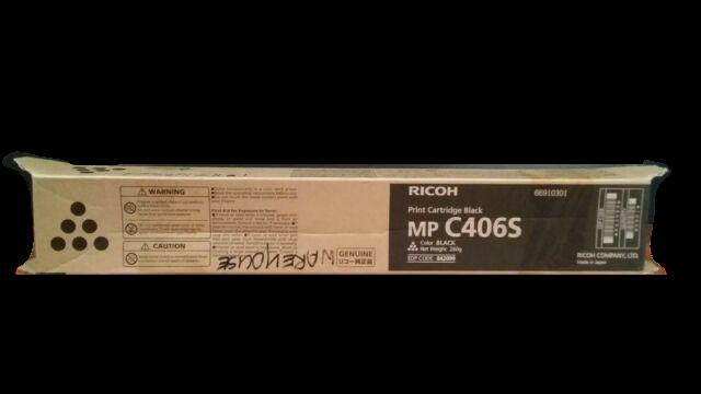 Genuine Ricoh Black MP C406S Toner Print Cartridge 842099