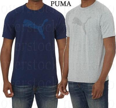 Puma Men/'s Short Sleeve Crew Neck Finisher Athletic Tee NWT