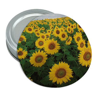 Sunny Sunflowers Round Rubber Non-Slip Jar Gripper Lid Opener