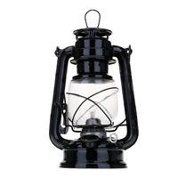 Portable Retro Oil Lantern Outdoor Camping Kerosene Paraffin Hurricane Lamp