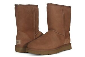 8b7a2583f41e8 Details about UGG Women s Shoes Classic Short II Boots 1016223 Black  Chestnut Grey Chocolate