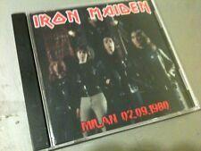 Iron Maiden Concert CD Milan Italy 1980