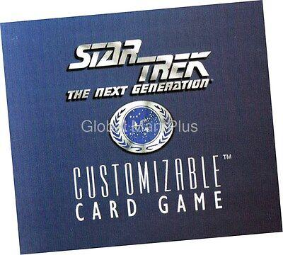 STAR TREK CCG WHITE BORDER PREMIERE 1995 BETA RARE CARD KURAK