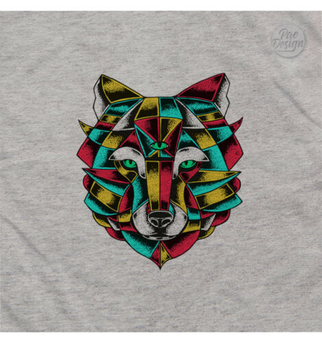 Felpa Eyes Lupo Hey He0026a Urban Animal Wolf Pacdesign Uomo Swq7z