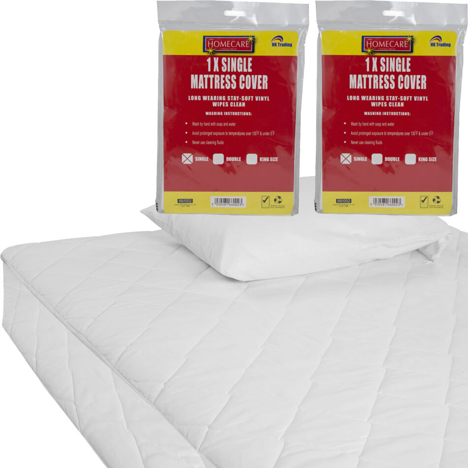 DOUBLE AND KING SIZE WATERPROOF MATTRESS PROTECTOR SHEET SINGLE