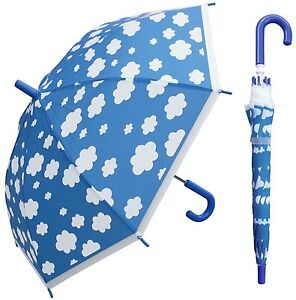 "32"" Arc Children Kid Clear Unicorn Umbrella RainStoppers Rain Cute Colorful"