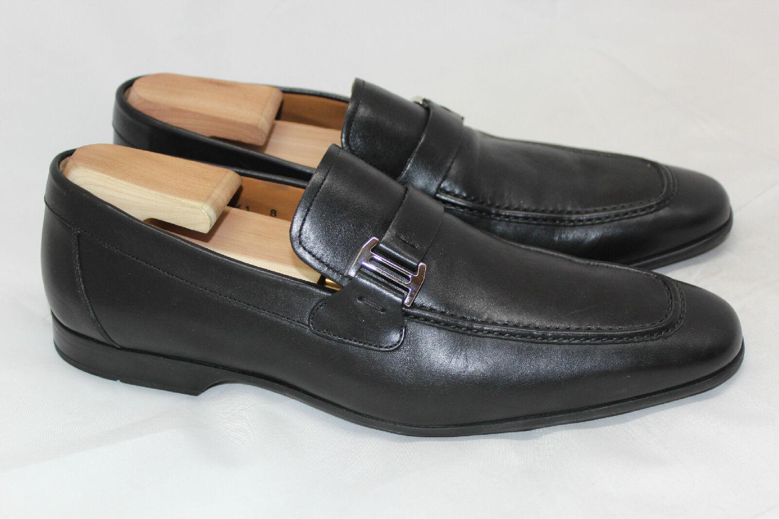 Magnanni pour homme  Lino  Mocassin Chaussure à Enfiler-Noir Taille 8 M - 15061 (V13)