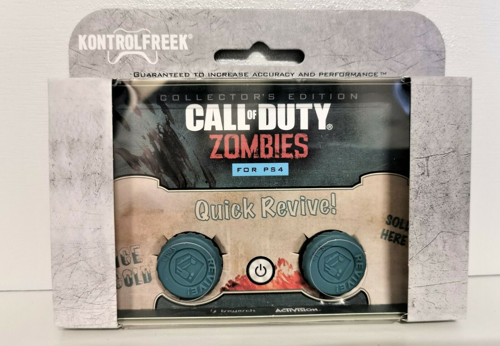 FPS Kontrol Freek Call of Duty Zombies Quick Revive Collectors Edition PS4 Grips