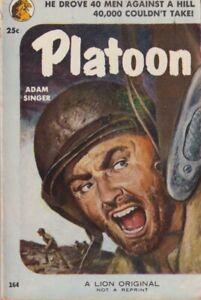 Adam-Singer-Platoon-Lion-164-1953-1st-edition-War-Fiction-203109