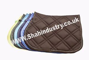 NEW-ALL-PURPOSE-GENERAL-HIGH-QUALITY-SADDLE-PAD-cob-full-pony