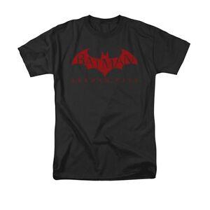 Batman Arkham City LOGO Licensed Adult Long Sleeve T-Shirt S-3XL