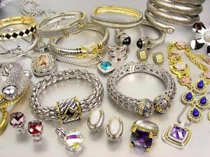 Jewelry & Watches Reasonable Lot 3 Wholesale Lot Of Wearable Fashion Jewelry Ladies Mans Assorted Rings 30 Pc