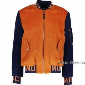 e5d8d079e Details about Moschino Couture Logo Padded Bomber jacket Coat 50-52 New  Men's