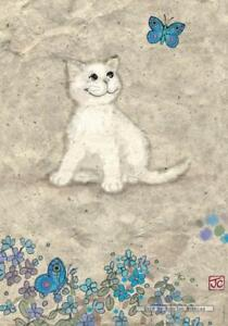500 pcs jigsaw puzzle: White Kitty by Jane Crowther (Cats) (Heye 29626)