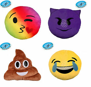 Cuscini Faccine Whatsapp.Cuscino Emoticon Peluche Emoji Whatsapp Facebook Portachiavi