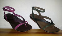 $100 Womens Chaco Sofia Gladiator Sandals Green Purple 8 10