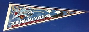 Luc Robitaille Rob Blake signed 2001 All-Star Game Pennant PSA/DNA Cert# X72329