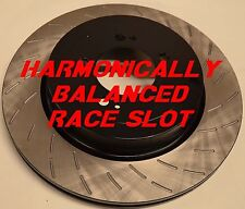 Fits Mustang GT500 Boss 302 GT Base Harmonically Balanced Race Slot Rotors Rear